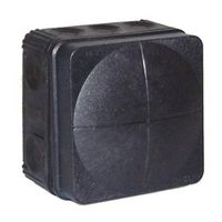 Wiska 85x85x51 Combi Junction Box IP66/67 Black