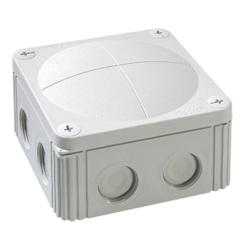 Wiska 60401 Waterproof Junction Box Combi 308/5 Grey