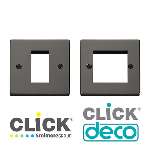 Deco Black Nickel New Media