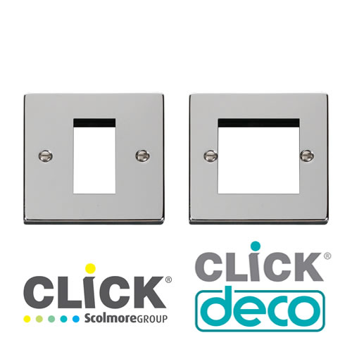 Deco Polished Chrome New Media