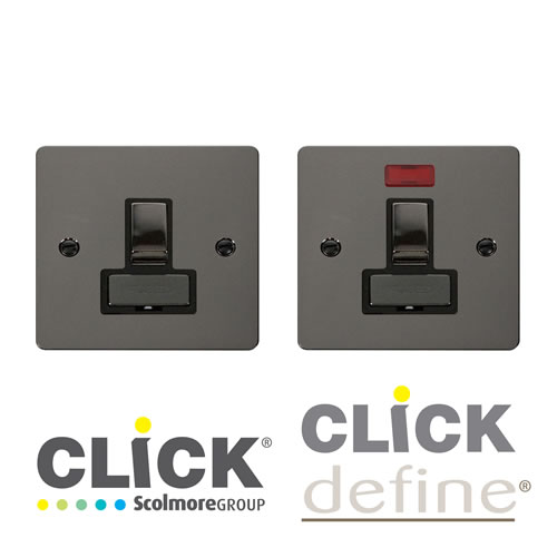Black Nickel Connection Units
