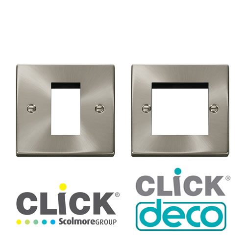 Deco Satin Chrome New Media