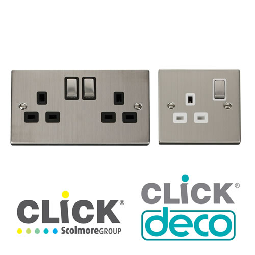 Deco Stainless Steel Sockets
