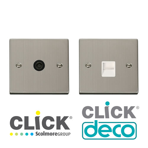 Deco Stainless Steel TV, Tel