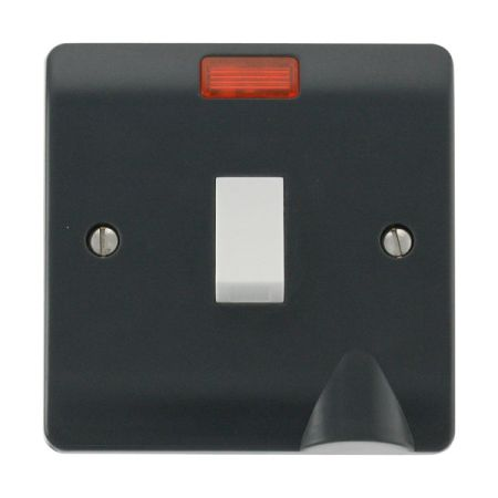 Click Mode Part M 20A DP Switch with Neon CMA023AG