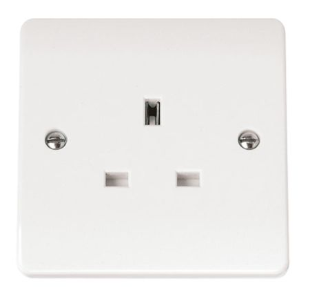 Click Mode 13A Single Unswitched Socket CMA030