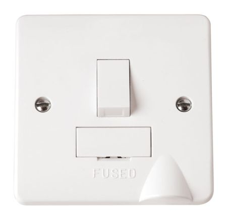 Click Mode 13A Switched Fused Spur with Flex Outlet CMA051 Click