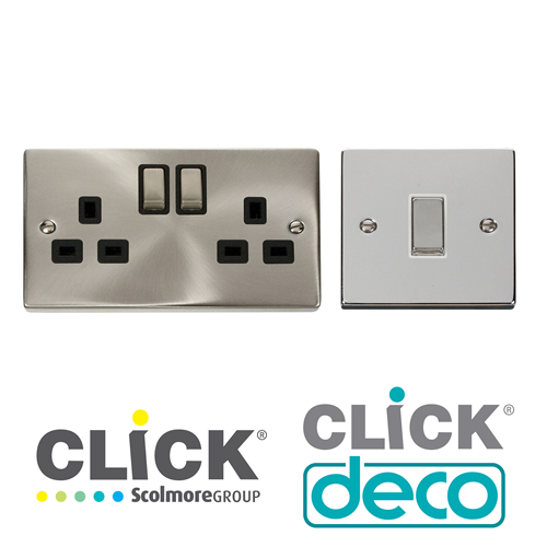 Click Deco Switches & Sockets