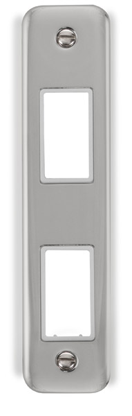 Click Deco Plus Double Architrave Plate DPCH472WH