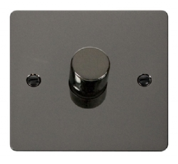 Click Define Black Nickel 1 Gang 2 Way Dimmer Switch FPBN140