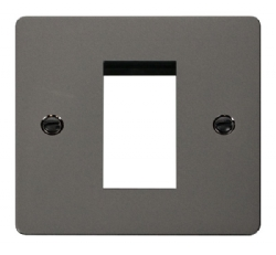 Click Define Black Nickel New Media Single Plate FPBN310