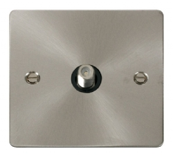 Click Define Brushed Steel Non-Isolated Sat Point FPBS156BK