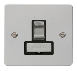 Click Define Polished Chrome Switched Fused Spur FPCH751BK