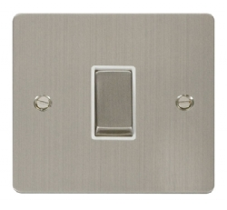 Click Define Stainless Steel 1 Gang 2 Way Switch FPSS411WH
