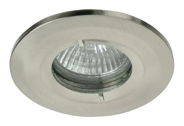 Click GF495SC IP65 Cast Bezel Satin Chrome to suit GU395