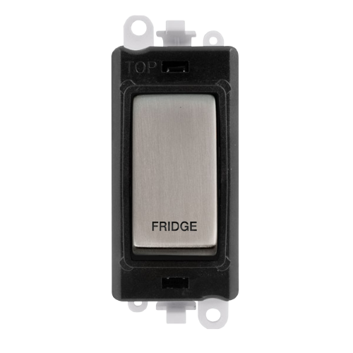 Click Grid Pro GM2018BKSS-FD DP Sw Module Black S/Steel Fridge