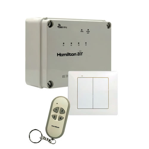 Mercury Air 4 Channel Wireless Switching System MWM-4CHPSKIT