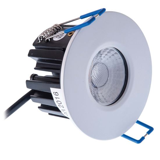 KSR FireBreak QR10 Dimmable LED Downlight 3000K KSRFRD350