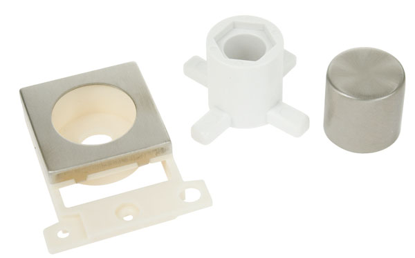 Click MiniGrid MD150SS S/Steel Dimmer Module Mounting Kit