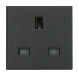 Click New Media MM010BK 13A UK Single Socket Outlet Black
