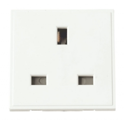 Click New Media MM010WH 13A UK Single Socket Outlet White