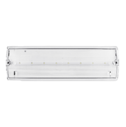 Ovia Novem 3W 6500K Emergency LED IP65 Bulkhead OVEM1311