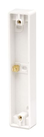 Click Polar 2 Gang Architrave Pattress PRW176