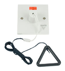 Click Polar 10A 3 Pole Fan Isolation Pullcord Switch PRW208AG