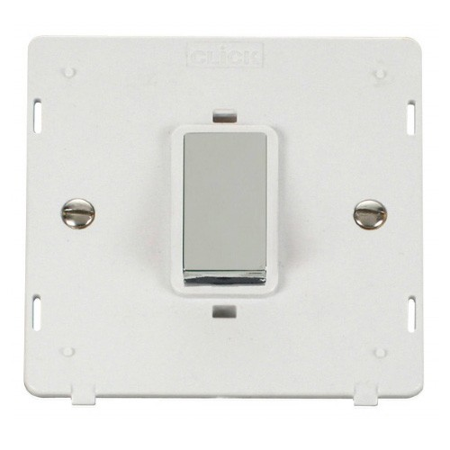 Click Definity 45A DP Switch Single Plate Insert SIN500PWCH