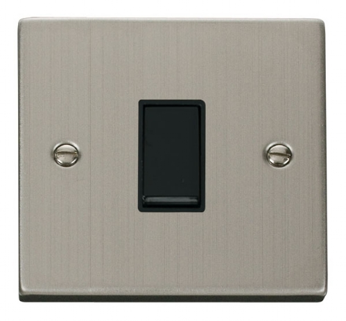 Click Deco Stainless Steel Intermediate Switch VPSS025BK