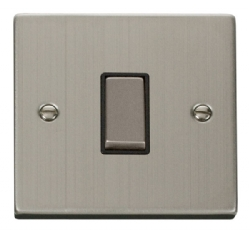 Click Deco Stainless Steel Intermediate Switch VPSS425BK