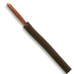 1.5mm Brown Singles Cable 6491X (100m Drum)