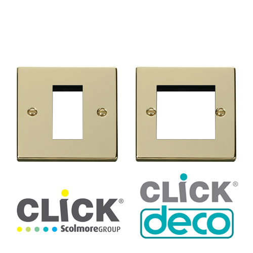 Deco Polished Brass New Media