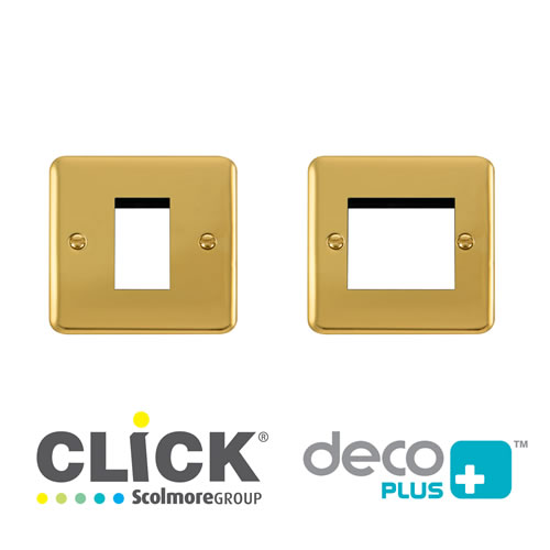 Deco Plus Brass New Media