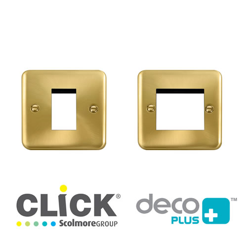 Deco Plus S/Brass New Media