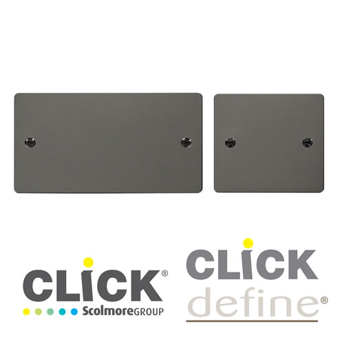 Black Nickel Blank Plates