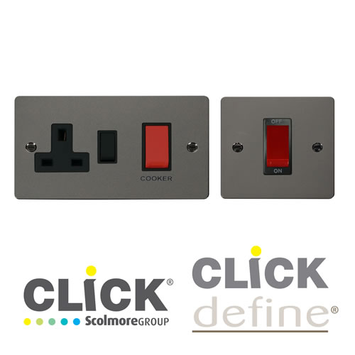 Black Nickel DP Switches
