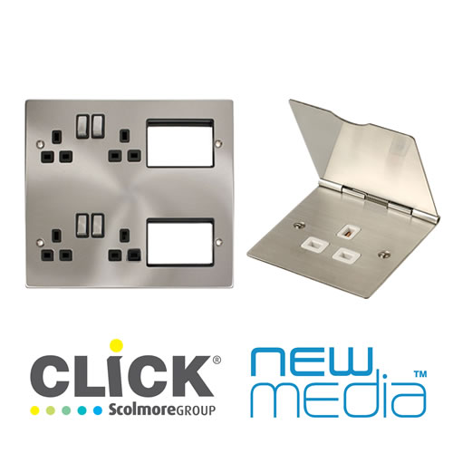 Click New Media Sockets & Grid