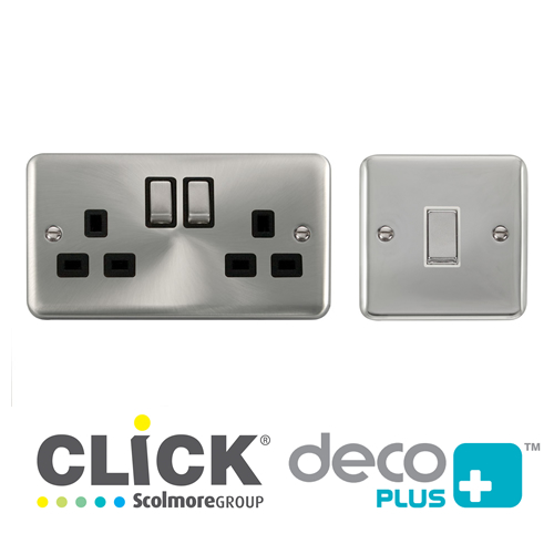 Deco Plus Switches & Sockets