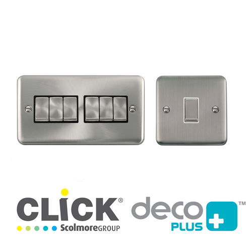 Deco Plus Plate Switches