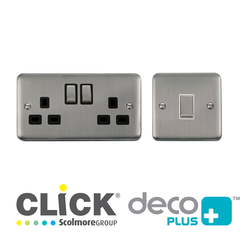Click Deco Plus Stainless Steel