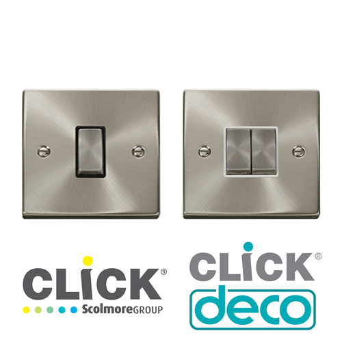 Click Deco Plate Switches