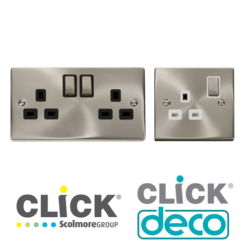 Click Deco Socket Outlets