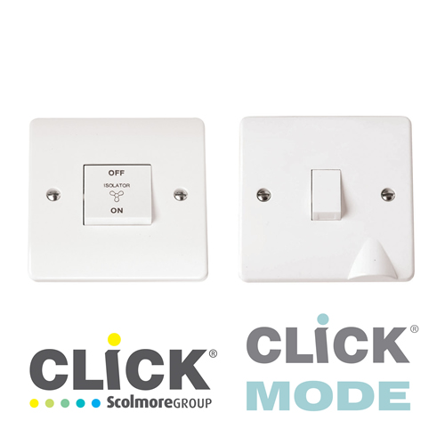 Click Mode White DP Switches