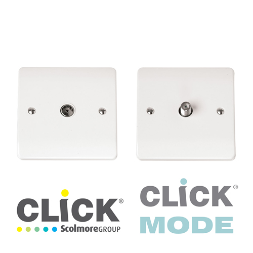 Click Mode White TV, Data, Tel
