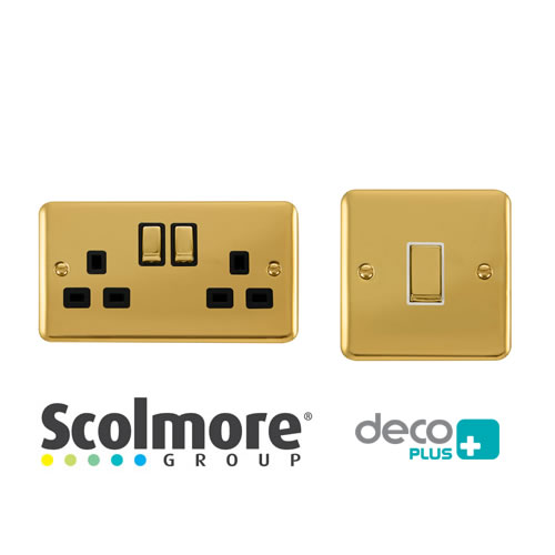 Click Deco Plus Polished Brass