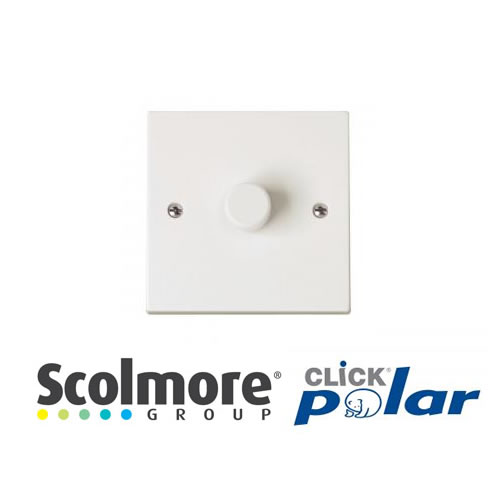 Click Polar White Dimmers