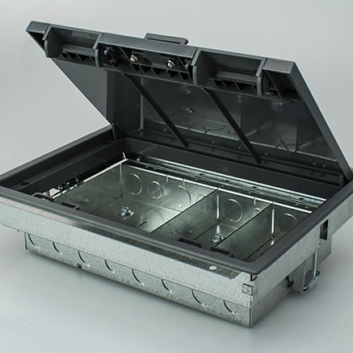 4 Compartment Cavity Floor Box