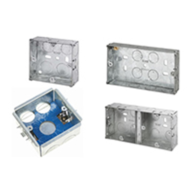 Flush Metal Knockout Boxes