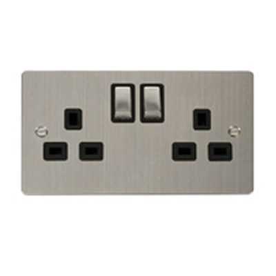 Stainless Steel Socket Outlets